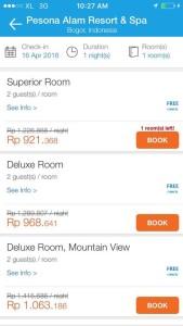 Booking hotel pesona alam bogor