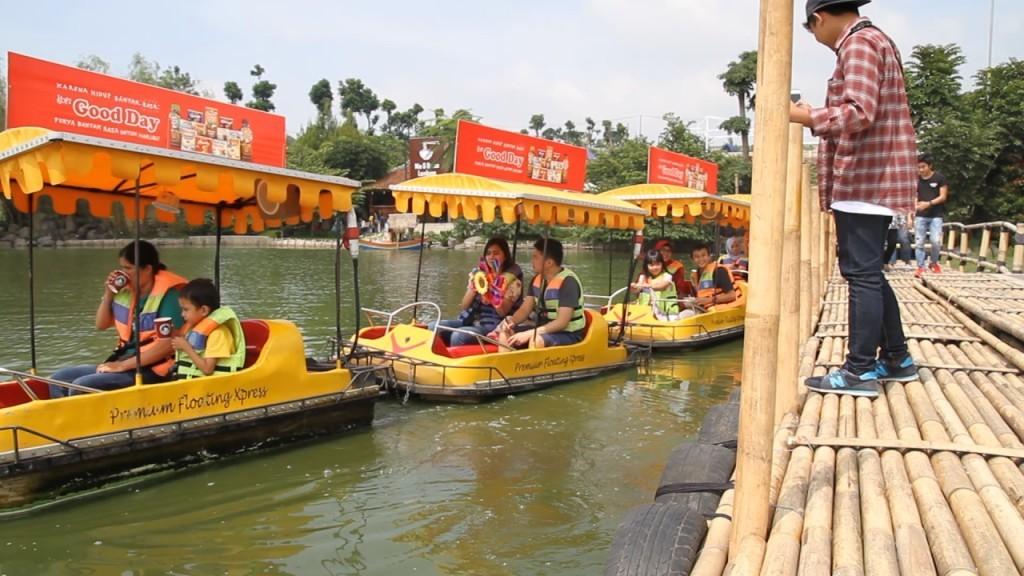 Floating-Market lembang perahu