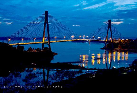 Jembatan-Barelang-Batam-Malam-Hari