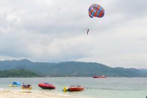 PARALAYANG di pulau tangkil