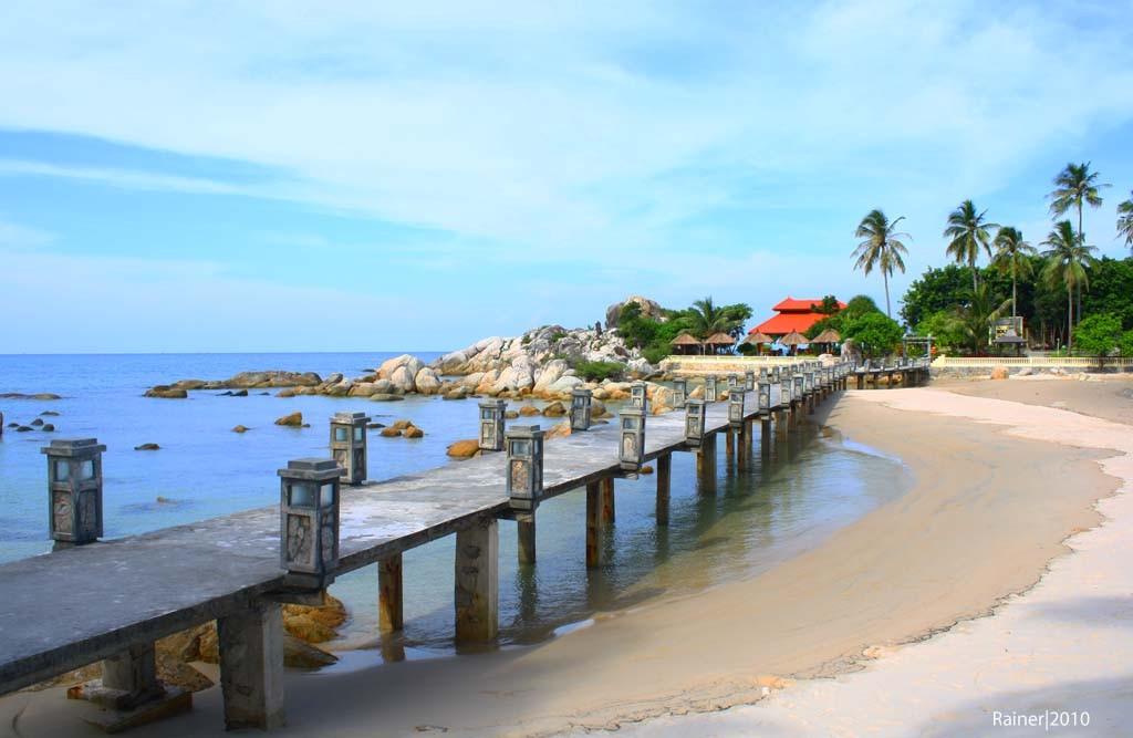 7 Pantai Cantik Yang Eksotis Di Bangka Belitung