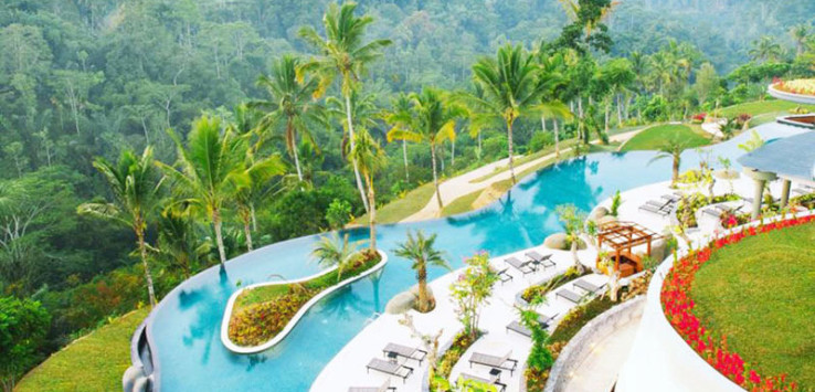 padma resort ubud pool