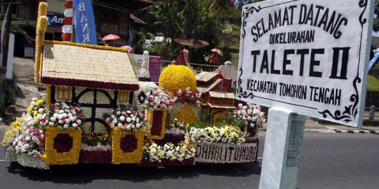 festival bunga-tomohon
