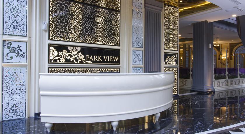 lobby park view hotel