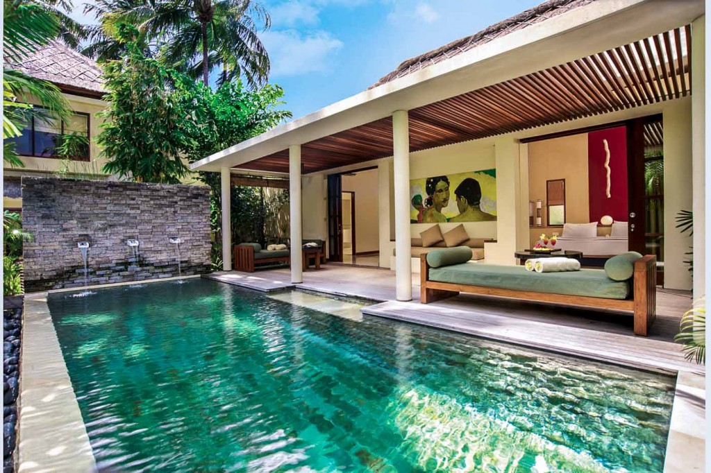 qunci villas private pool