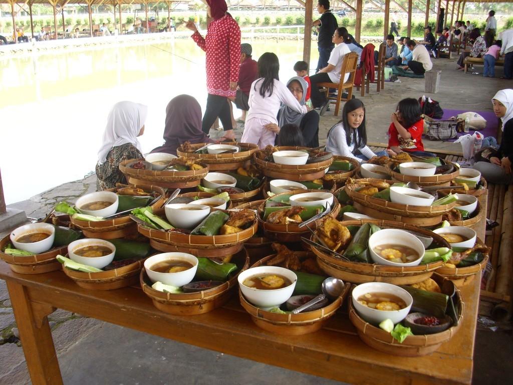 Kampoeng-Sawah menu
