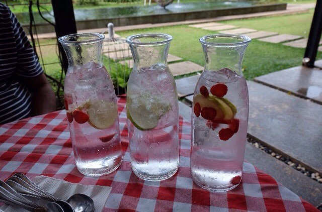 Infused water IDR 15K