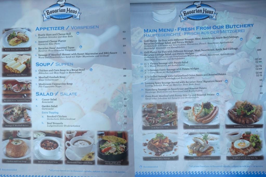 menu-bavarian-haus-bogor