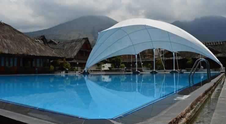 kolam air hangat sumber alam garut